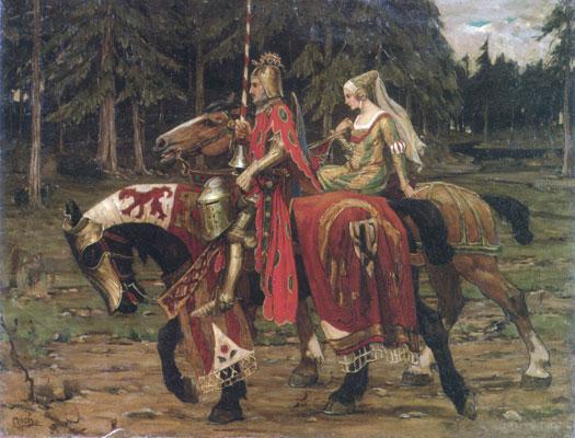 Alphonse Mucha's Heraldic Chivalry
